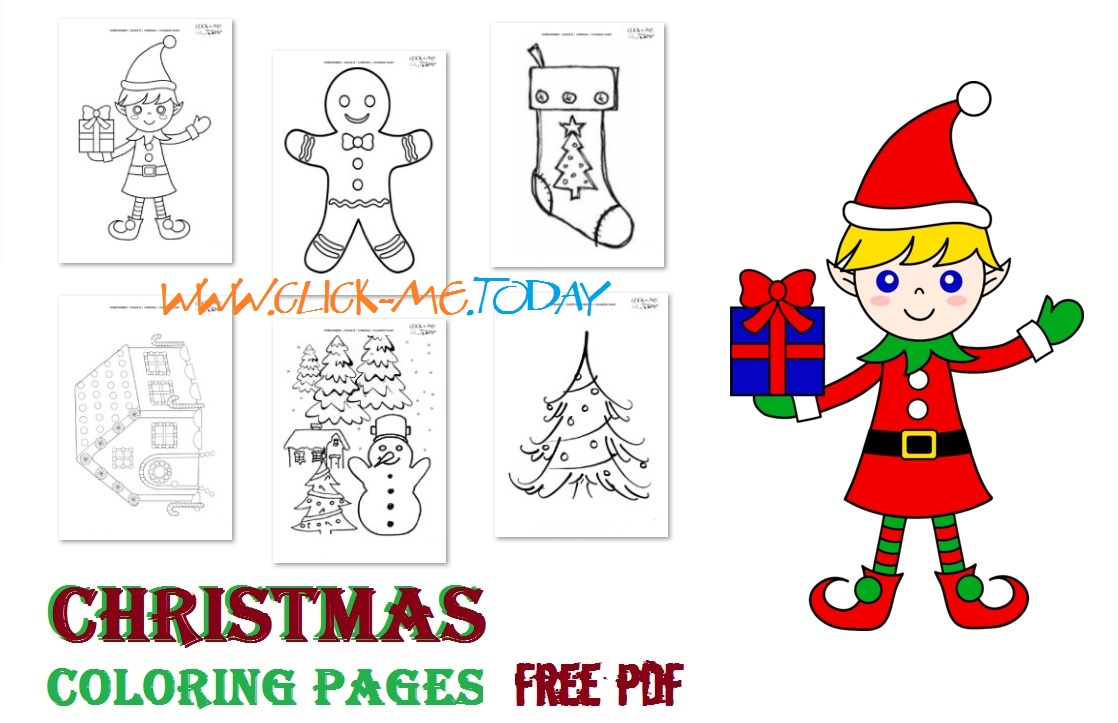Free printable Christmas coloring pages Download PDF