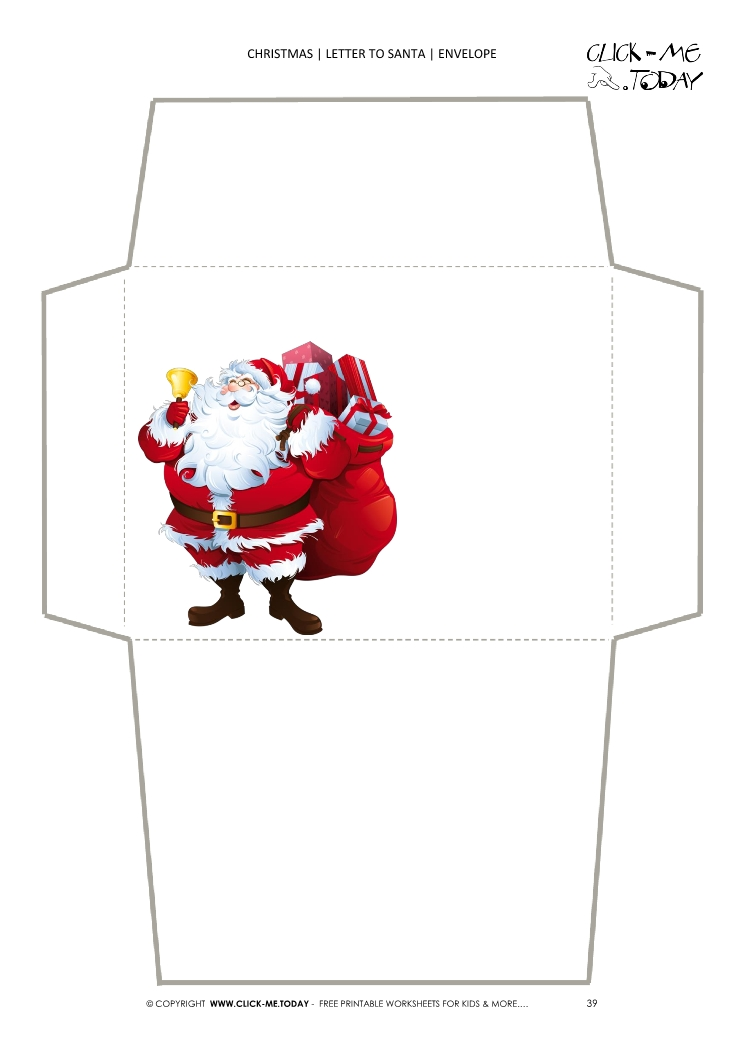 Free Printable Envelopes From Santa