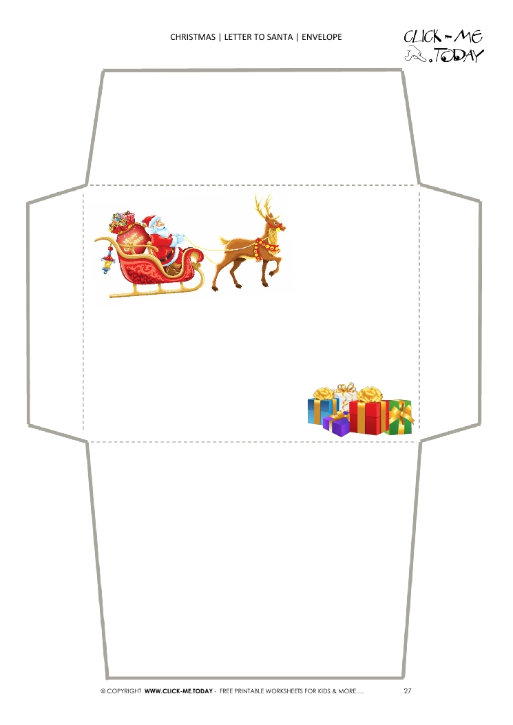 printable-envelope-to-santa-template-sleigh-presents%20(27) Santa Claus Letter Templates Free on for preschool, printable editable, printable blank, printable christmas,