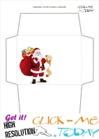Printable envelope to Santa template from toddler 41