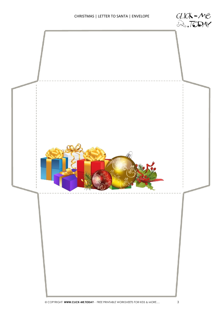 photograph about Printable Christmas Envelopes named Cost-free printable Christmas envelope stationery offers 3