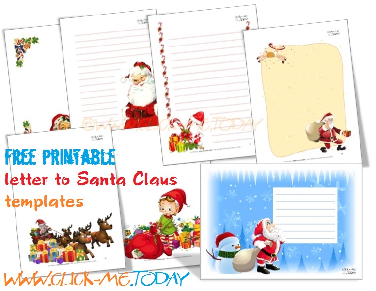 photograph regarding Letters to Santa Templates Free Printable called Cost-free printable letter in the direction of Santa template