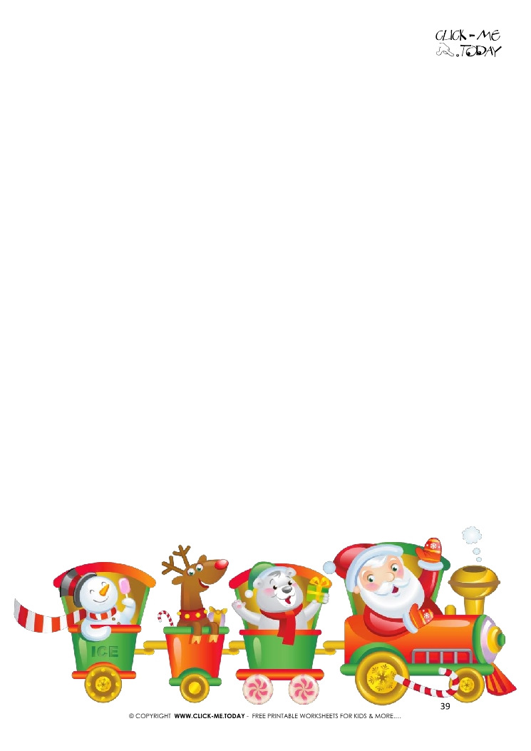 free printable letter to santa template from newborn 39