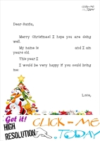 Printable hilarius letter to Santa ready template 10