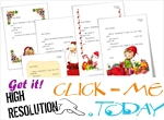 Free ready to sent letter to Santa Claus with  sample text