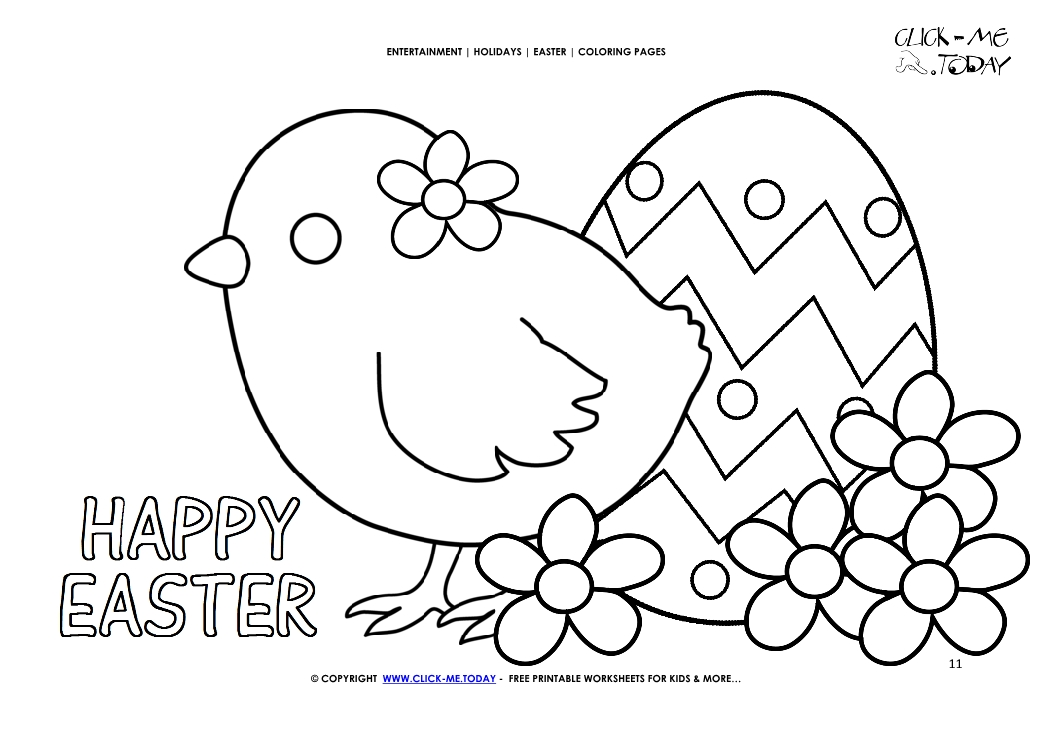 Happy Easter | Free easter coloring pages, Bunny coloring pages ... | 745x1053