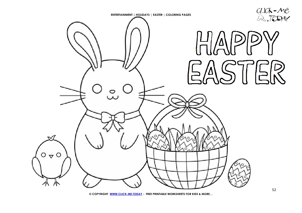 Easter Coloring Pages, Free Easter Coloring Pages for Kids | 745x1053