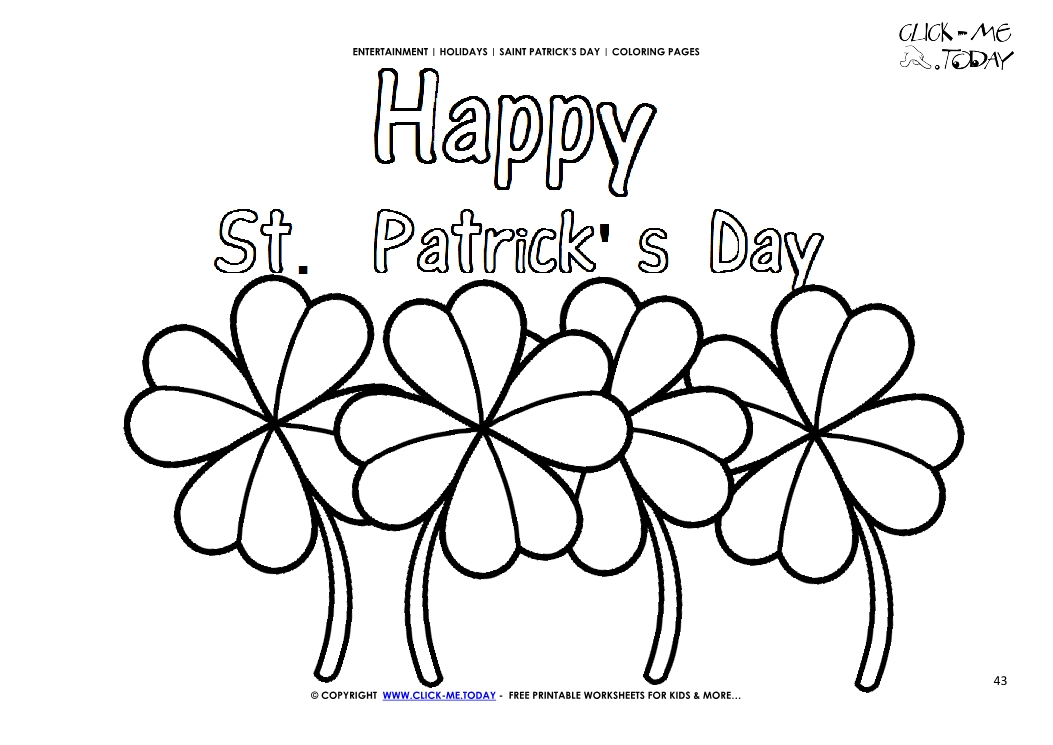 Pot of Gold, Rainbow, and St. Patrick's Day Owl coloring page ... | 745x1053