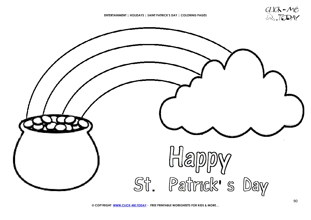 rainbow with clouds coloring page - rainbow cloud coloring page bltidm