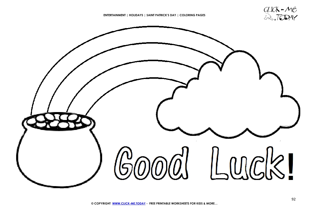 Clouds rainbow Coloring Page - Free Shapes Coloring Pages ... | 745x1053