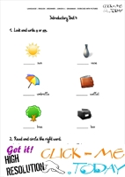 Grammar Exercises With Pictures - Indefinite Article 4