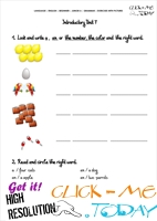 Grammar Exercises With Pictures - Plural 2