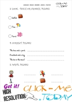 FREE PRINTABLE BEGINNER ESL JUNIOR A PRACTICE WORKSHEET  IU3&4 B