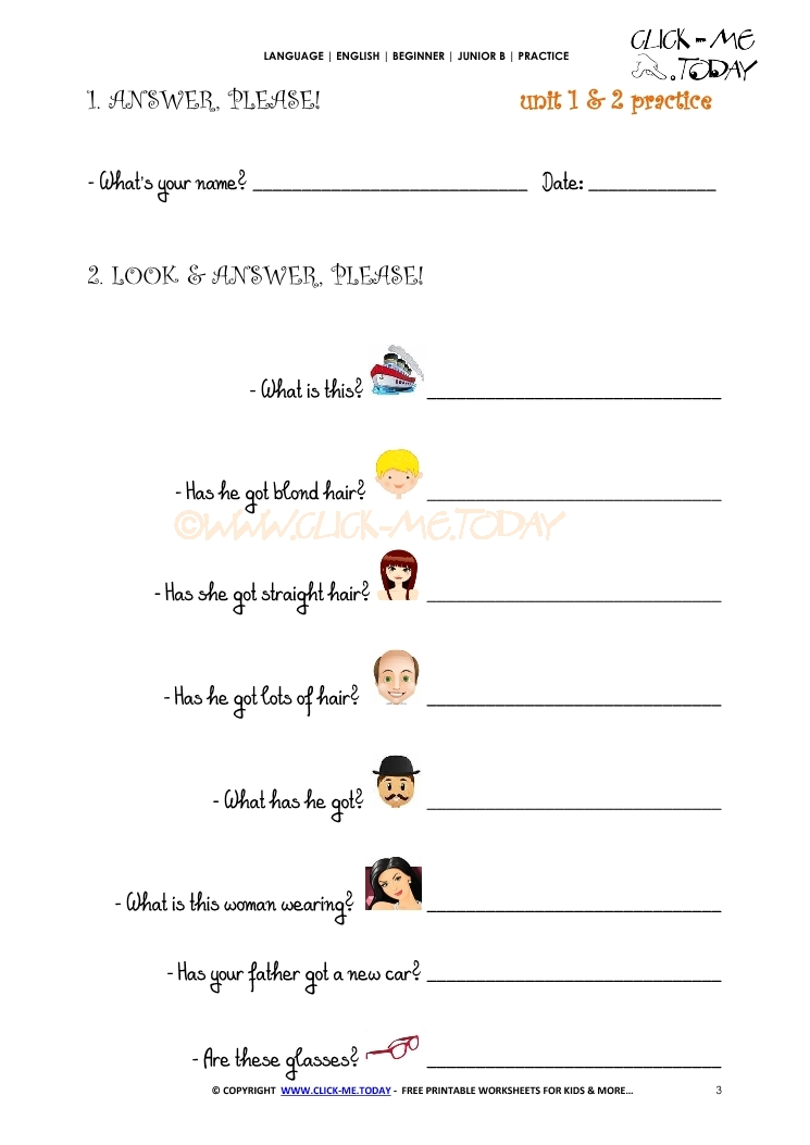 Printables English Practice Worksheets free printable english practice worksheet junior b u12 a