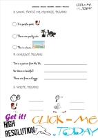 FREE PRINTABLE ENGLISH PRACTICE WORKSHEET - JUNIOR B - U1&2 B