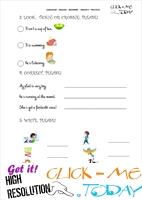 FREE PRINTABLE ENGLISH PRACTICE WORKSHEET - JUNIOR B - U3&4 B