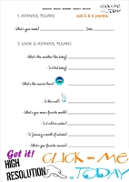 FREE PRINTABLE ENGLISH PRACTICE WORKSHEET - JUNIOR B - U5&6 A