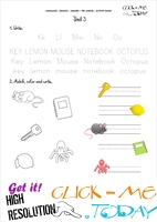 FREE PRINTABLE BEGINNER ESL PRE-JUNIOR WORKSHEET 3 - ALPHABET