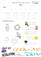 FREE PRINTABLE BEGINNER ESL PRE-JUNIOR WORKSHEET 4 - ALPHABET