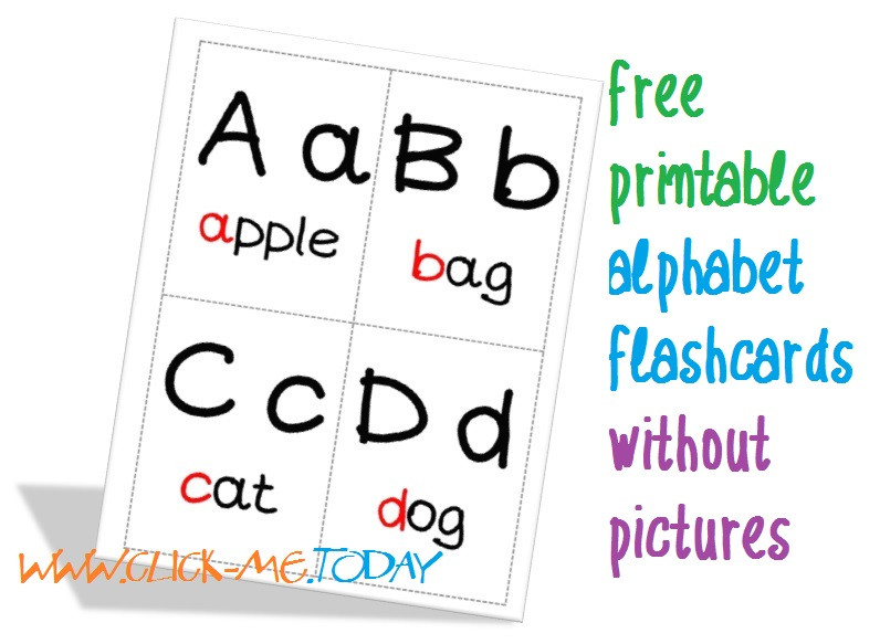 Crafty image pertaining to printable alphabet flashcards without pictures