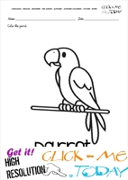 English alphabet coloring pages with words - English alphabet coloring pages with words - P