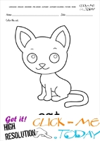 English alphabet coloring pages with words - English alphabet coloring pages with words - C