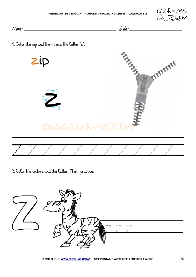 writing letters worksheets Our free alphabet worksheets are specially designed by one of the very few second generation homeschooling families as printable alphabet letters for your child to copy as fun handwriting.