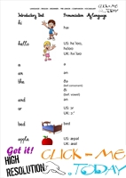 FREE PRINTABLE BEGINNER ESL PRE-JUNIOR COMPANION - VOCABULARY SHEET 1