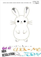 Printable Arctic Animal Arctic Hare wall card - Arctic Hare flashcard