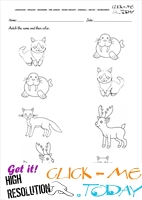 Arctic Animals Worksheet - Activity sheet Match 1