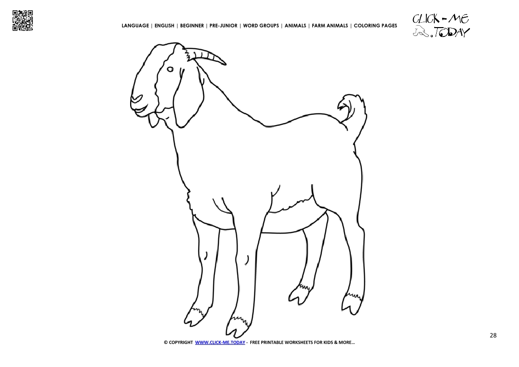 Free The Three Billy Goats Gruff Coloring Pages, Download Free ... | 745x1053
