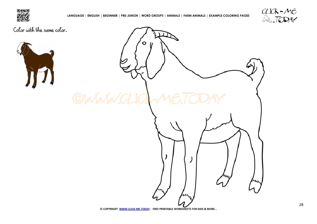 Billy Goats Gruff Coloring Pages