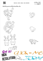 Farm Animals Worksheet  - Activity Sheet 11