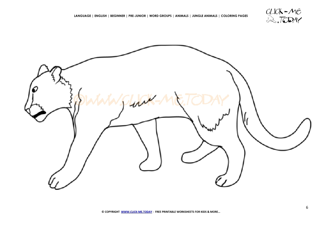 Coloring page lioness color picture of lioness for Lioness coloring pages