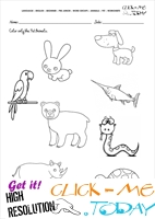 Pet Animals Worksheet - Activity Sheet 1