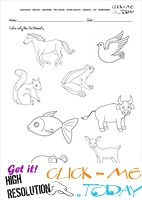 Pet Animals Worksheet - Activity Sheet 2