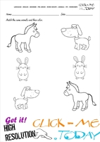 Pet Animals Worksheet - Activity Sheet 7