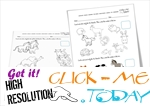 Free Printable Pet Animals Worksheets - Activities for Pet Animals