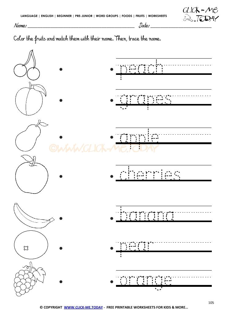 kindergarten numbers worksheet