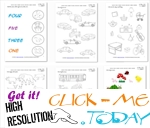 Numbers Free Printable Worksheets & Activities