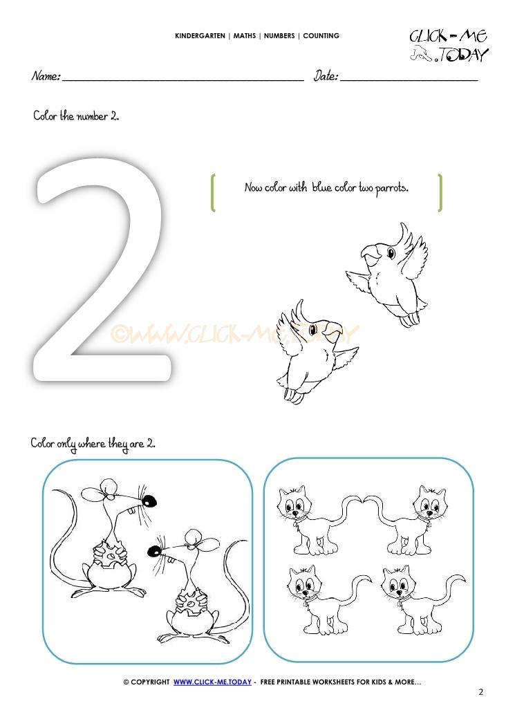 counting worksheet 2. Black Bedroom Furniture Sets. Home Design Ideas