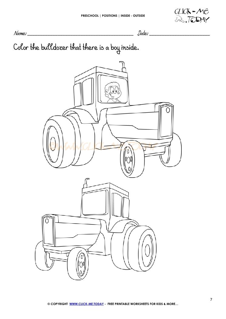 Spatial Concepts Worksheet Preschool Spatial Best Free