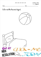 Free printable Heavy - Light Activity sheets & Worksheets 1