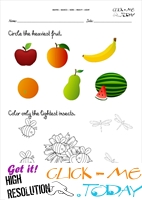 Free printable Heavy - Light Activity sheets & Worksheets 4