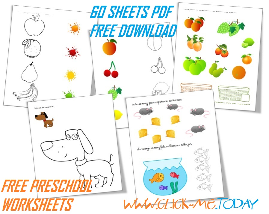 free preschool worksheets pdf