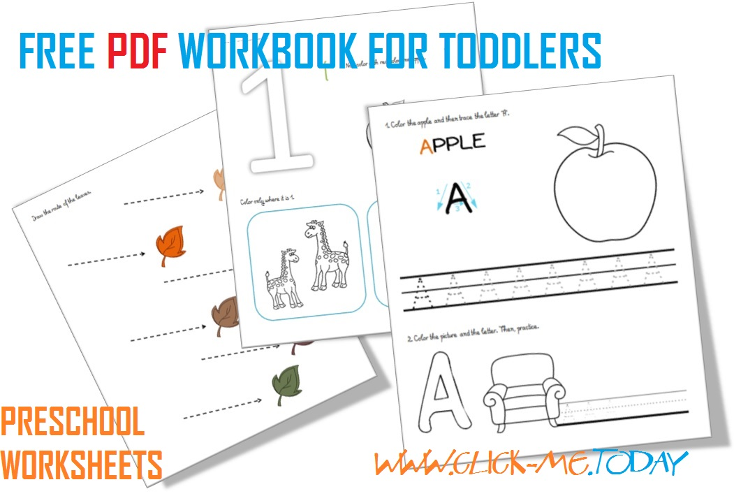 Download  Free Printable Preschool Worksheets Pdf